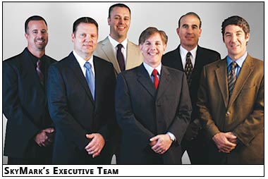 The SkyMark Aircraft Refuelers Executive team