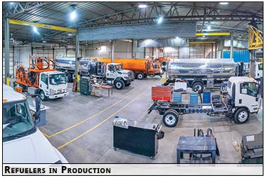 The Production facility for SkyMark Refuelers